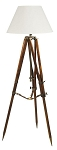 Campaign Tripod Floor Lamp Nautical Lighting