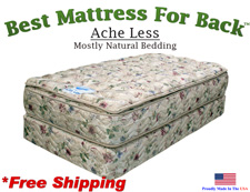 Twin Ache Less™, Best Mattress For Back