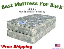 Twin Best, Best Mattress For Back