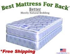 Twin Better, Best Mattress For Back