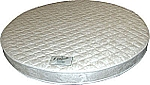 Abe Feller® High Density Foam Round Mattress