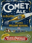 Comet Ale Vintage Metal Sign