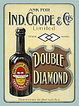 Double Diamond India Pale Ale Vintage Alcohol Tin Sign
