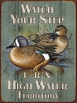 High Water Territory Vintage Metal Sign