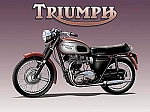 Triumph Motorcycle Vintage Tin Sign