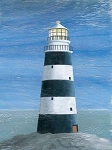 Lighthouse Vintage Metal Sign