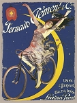 Clement Cycles Vintage Metal Sign