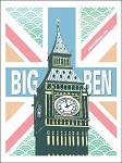 Big Ben Vintage Metal Sign
