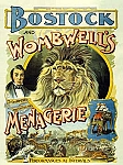 Bostock and Wombwell's Menagerie Vintage Tin Sign