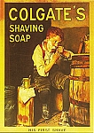 Colgate's Shaving Soap Vintage Tin Sign