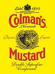 Colman's Mustard Metal Sign