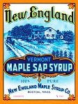 Vermont Maple Syrup Vintage Metal Sign