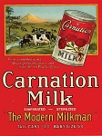 Carnation Milk Vintage Metal Sign