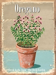 Oregano Vintage Metal Sign