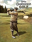 Men's Open Championship Golf Tin Sign
