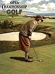Women's Open Championship Golf Tin Sign