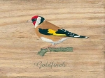Goldfinch Vintage Metal Sign