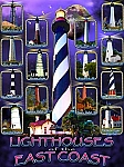 Lighthouses of the East Coast Tin Sign
