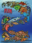 Underwater Fish Guide Tin Sign