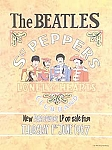 The Beatles Sergeant Pepper's Vintage Tin Sign