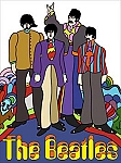 The Beatles Retro Vintage Tin Sign