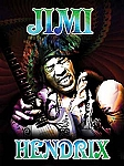 Jimi Hendrix Tin Sign