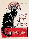 Tournee du Chat Noir Vintage Tin Sign