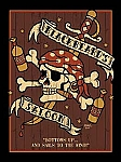Blackbeard's Saloon Tin Sign