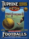 Tuphine Footballs Metal Sign