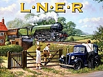 LNER Railways Through the Country Vintage Tin Sign