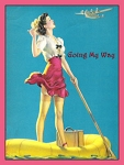 Going My Way Vintage Tin Sign