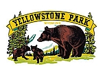 Yellowstone Park Vintage Tin Sign