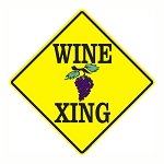 Wine Xing Metal Sign
