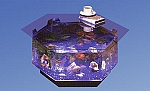 Octagon Coffee Table Aquarium