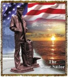 Lone Sailor Tapestry
