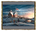 Above the Fruited Plain Artist Tapestry