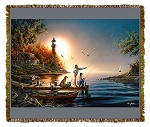 From Sea to Shining Sea Artist Tapestry