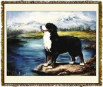 Bernese Mountain Dog Ruth Maystead © Tapestry
