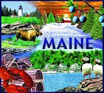 Maine Tapestry
