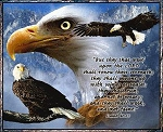 Eagles Wings Inspirational Tapestry