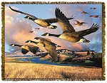Canadian Geese Tapestry