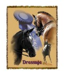 Horse Dressage Tapestry