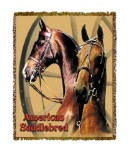 Horse Saddlebred Tapestry