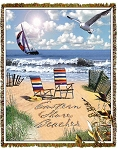 Eastern Shore Beaches Tapestry