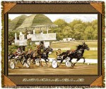 Harness Racing Tapestry