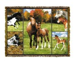 Horse Mares & Colts Tapestry