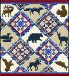 Lodge Animals Tapestry