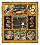 Lodge Fly Fishing Tapestry