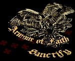 Mount Up Armour of Faith Sanctify Inspirational Tapestry