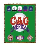 Negro League Baseball Cag Tapestry